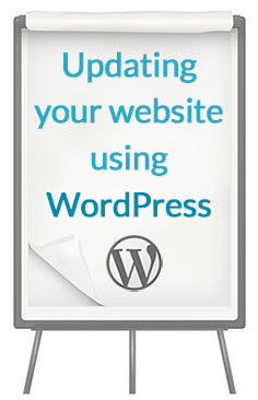 Updating your website using WordPress